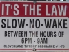 no-wake
